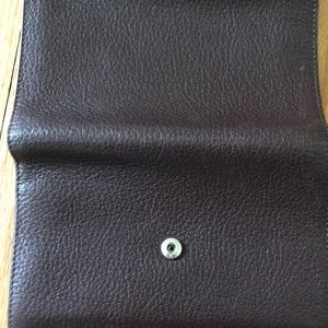 Coccinelle Bags - Coccinelle brown leather small wallet